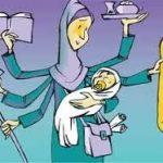 نقش زنان در اداره جامعه/صدای خاموش زنان را بشنویم