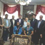 ملایی و پور عبدیان، قهرمانان و مدال آوران کانوپولوی شهرستان ملارد تجلیل شدند