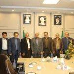 دیدار جمعی از روسای هیات های ورزشی شهرستان شهریار با مهندس طاهری