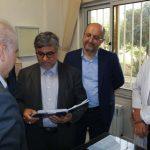 بازدید رئیس سازمان پزشکی قانونی کشور از پزشکی قانونی شهریار