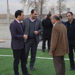 خیز بلند شهرداری صباشهر جهت ارتقای سرانه های ورزشی