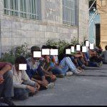 جمع آوری ۷۵معتاد کارتن خواب در شهریار