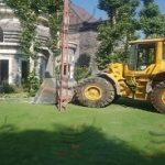 تخریب باغ تالار غیرمجاز سى هزار مترى در شهریار