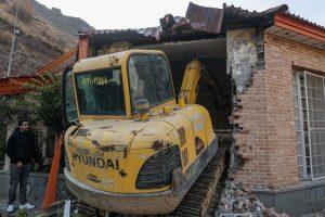 تخریب ۱۰۰ ویلای لوکس در اراضی کشاورزی و باغات شهریار