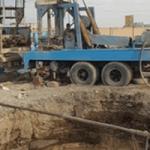 حفر و تجهیر یک حلقه چاه آب شرب در شهر باغستان
