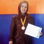 فرح مشهدی بنیانگذار ورزش بانوان شهرستان شهریار