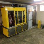 جمع آوری و قلع و قمع یک واحد سردخانه غیر مجاز موجود در پارکینگ آپارتمان مسکونی